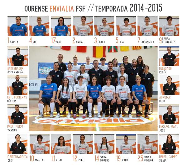 Ourense Envialia 2014-15