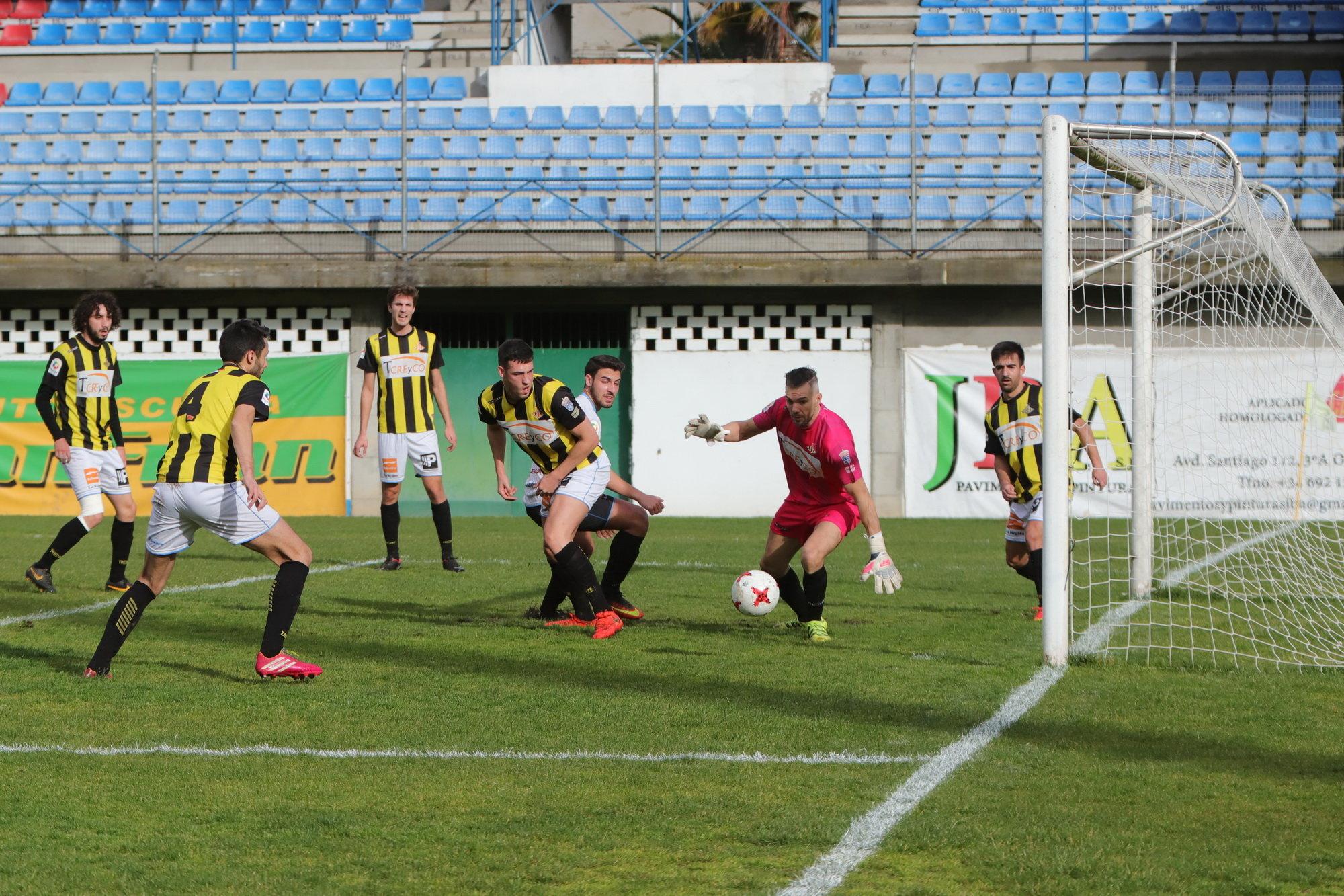 Justo reparto de puntos entre nuestro Ourense CF y el CD Ribadumia