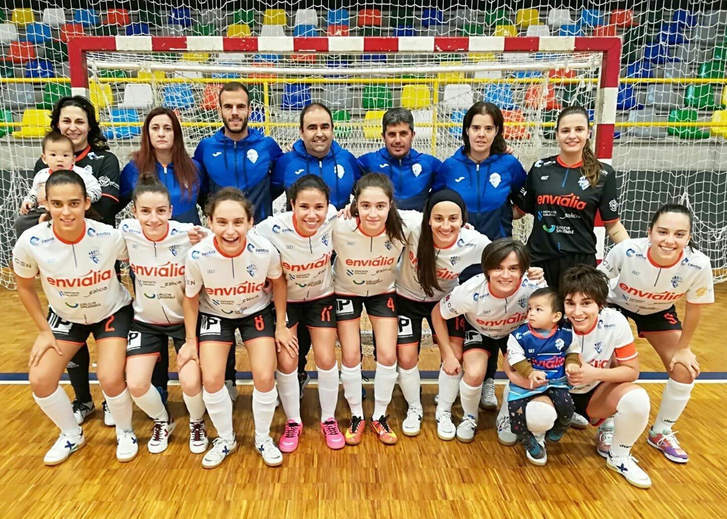 Cidade de Pontevedra Ourense Envialia FSF Copa Xunta