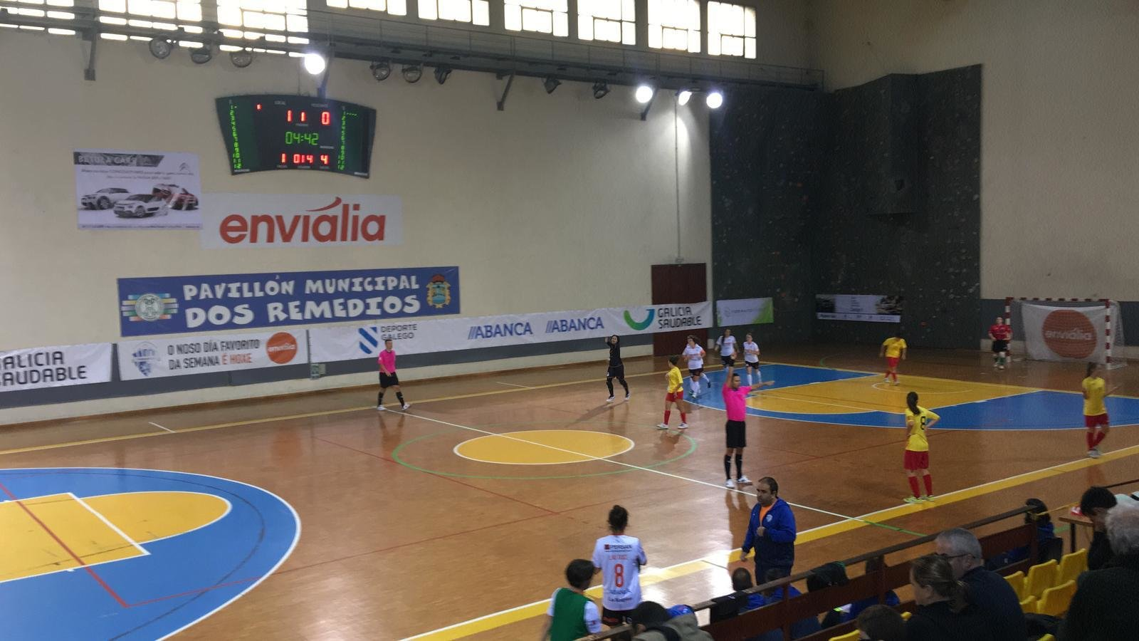 Ourense Envialia Femisport Palau2