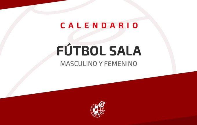 Calendario Futbol Primera Division.Calendario Partidos Primera Division Futbol Sala Femenino Temporada